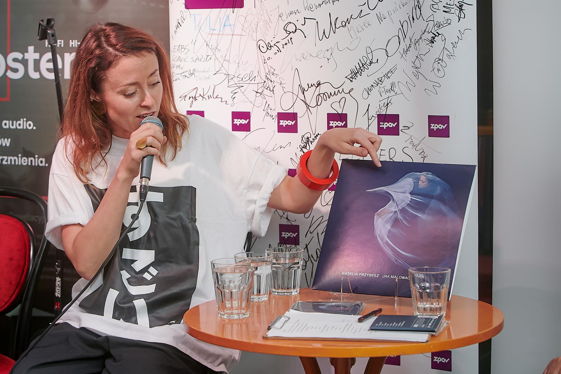 Przedpremierowy odsłuch albumu Natalii Przybysz na EKO winylu i CD