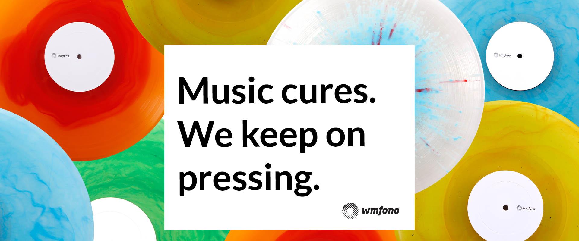 Music cures – tłoczymy dalej!